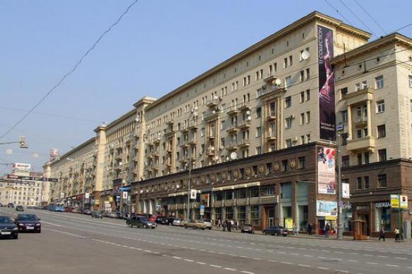 Арендные ставки на Тверской упали на 20%