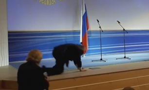 Жириновский оконфузился на инаугурации губернатора