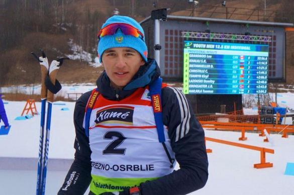 Россия завоевала серебро в смешанной эстафете на ЧЕ по биатлону