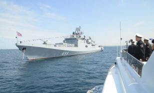 Черноморский флот следит за британским кораблём