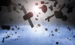 Куски космического мусора могут столкнуться и пролиться дождем обломков