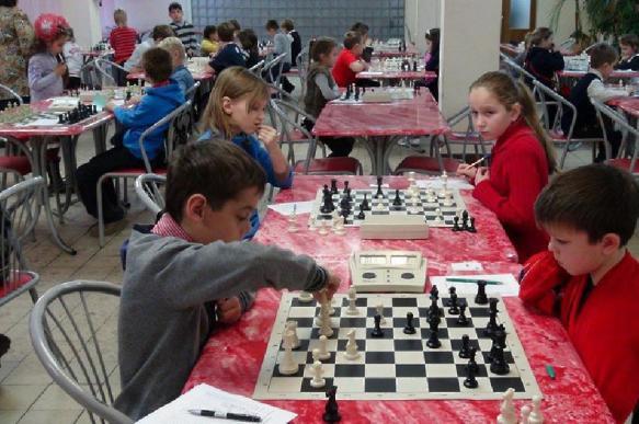 Московских первоклассников учат играть в шахматы