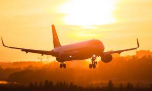 Самолёт выкатился за пределы взлётно-посадочной полосы во Внуково