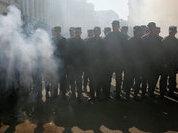 Взбунтовавшихся украинских резервистов окружили нацгвардейцы