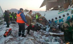 Названа вероятная причина крушения самолёта в Казахстане