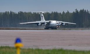 В Карабах вылетел десятый самолёт с российскими миротворцами