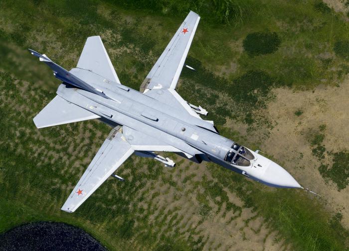 Су-24М открыл огонь по британскому эсминцу у Крыма