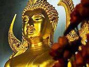 Буддисты отмечают один из шести главных ежегодных праздников