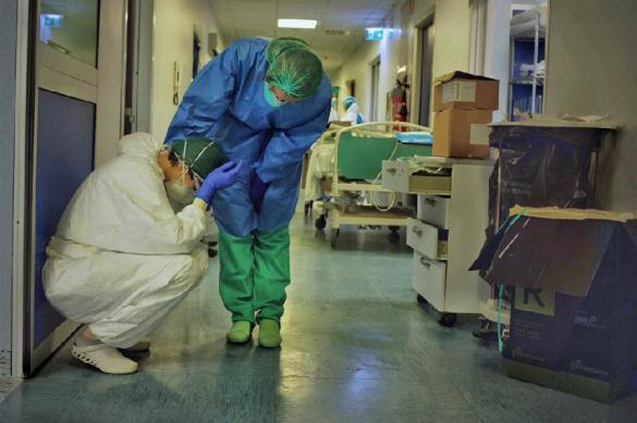 Corriere della Sera: В Италии пациенты умирают одни, их пакуют в пленку
