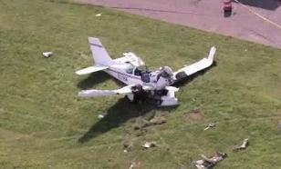При падении самолета в США погибла семья из пяти человек