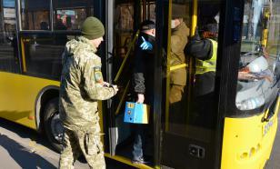 На Украине мужчина захватил пассажиров автобуса в заложники