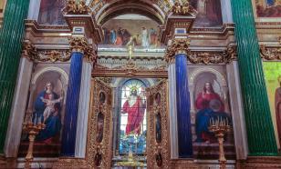 В Исаакиевском соборе отменили рождественское богослужение