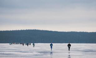 На льду Онежского озера пройдет экстремальный забег