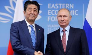 Абэ захотел сдвинуть переговоры по мирному договору с мертвой точки