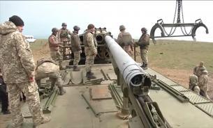 """Испытание украинского ракетного комплекса """"Ольха"""" (видео)"""