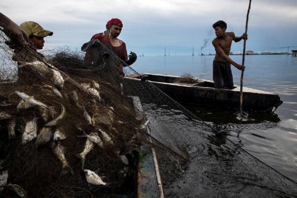 Как рыбаки случайно выловили аппаратуру ВМС США