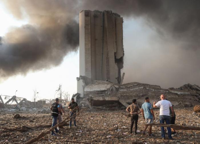 Почти 300 тысяч жителей Бейрута остались без крова