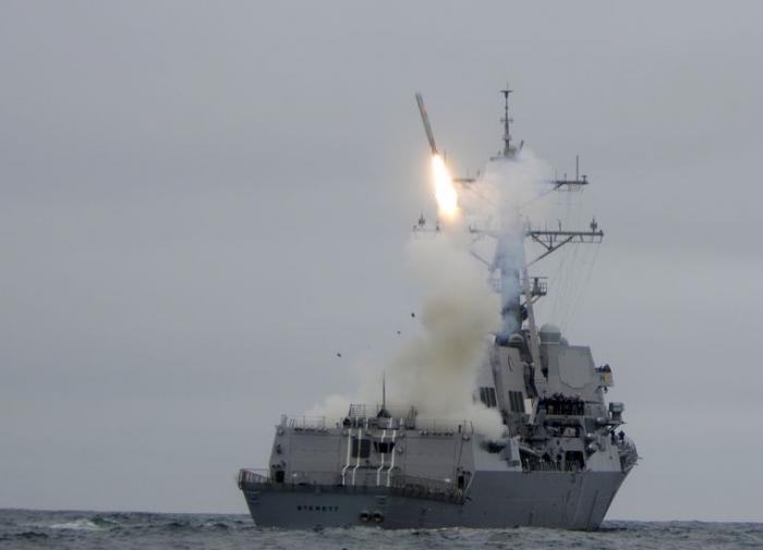 Власти Японии сделали представление России из-за ракетных стрельб в море