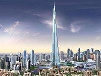 В Дубае мужчина выбросился с самого высокого небоскреба в мире.