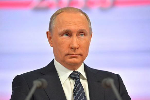 Путин: Где работают дочери, говорить не буду. Большая пресс-конференция президента