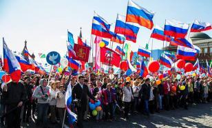 ВЦИОМ: Россияне гордятся тем, что живут в сверхдержаве