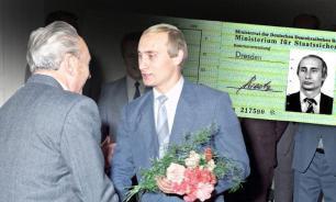 """Зачем Путину выдавали удостоверение """"Штази"""""""