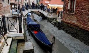Венецию накрыла засуха после паводков