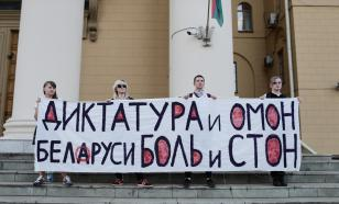 Бастующим белорусам напомнили о пенсиях стариков