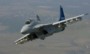 """Минобороны: Новый """"МиГ-35"""" будет сбивать противников лазером"""