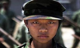 Дети - солдаты Мьянмы