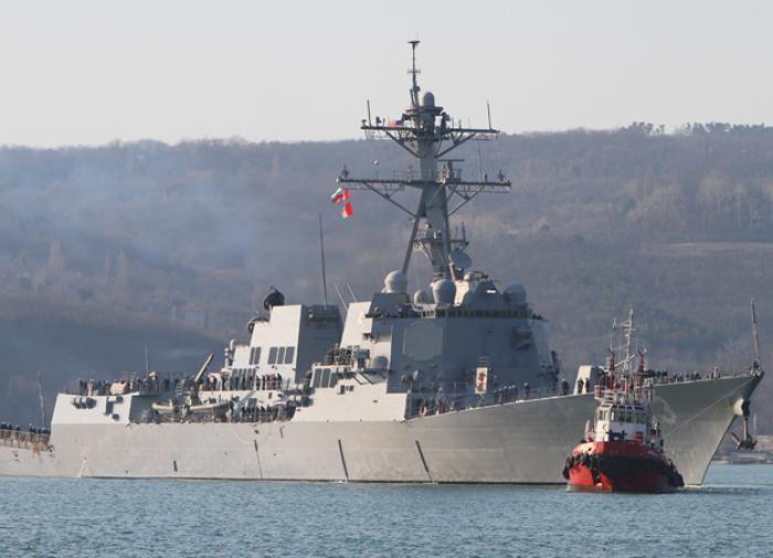Турция уведомила Россию о проходе кораблей ВМС США в Чёрное море