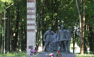 В Смоленской области школьник осквернил памятник воинам-первогвардейцам