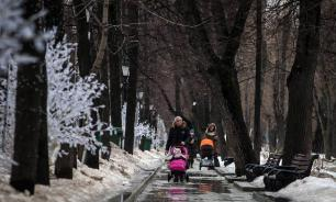 Синоптики назвали дату начала таяния снега в Москве