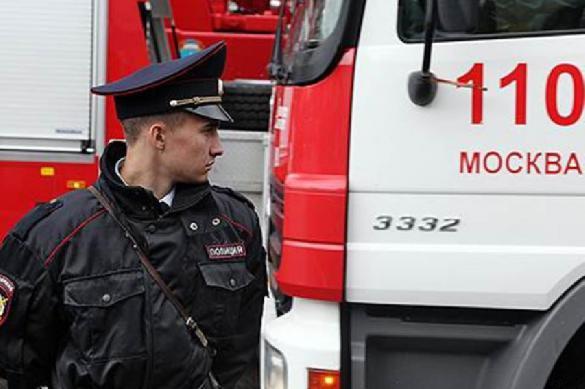 """В самой известной """"сталинке"""" Москвы произошёл пожар"""