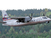 Ан-24 аварийно сел на Обь. Пятеро погибли.