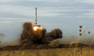 """Минобороны РФ показало видео запуска новой улучшенной ракеты """"Искандер-М"""""""