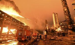 Опасные красители: китайский химзавод взлетел на воздух