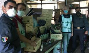 Полиция Италии перекрыла канал контрафактного элитного вина