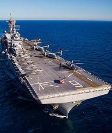 США пригрозили России авианосцами в Средиземном море