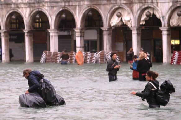 80% Венеции оказалось под водой