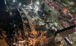Из-под руин китайского отеля в Фуцзяне достали 50 человек