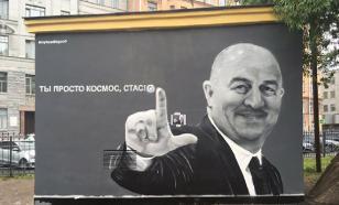 Власти Петербурга не рискнули убрать граффити с Черчесовым