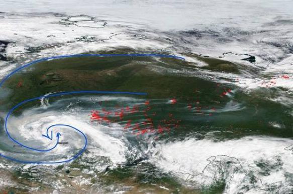 Greenpeace: сибирские пожары видны из космоса