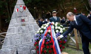 Впервые в Европе открыт памятник солдатам двух мировых войн