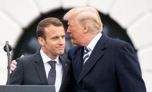 Пробный шар: Макрон диктует правила Трампу