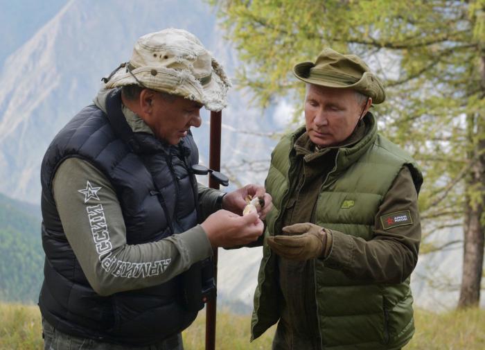 Экс-глава Тувы рассказал об отдыхе Путина в тайге