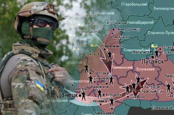 В ЛНР зафиксировали постановочные  обстрелы нацгвардии Украины