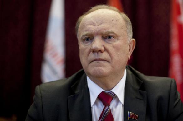 Зюганов выступил против самовластия президента