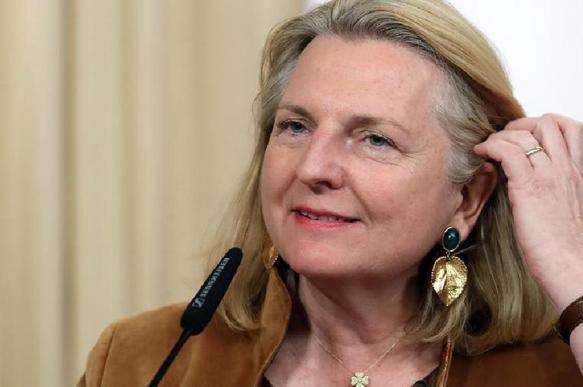 Экс-глава МИДа Австрии упрекнула ЕС в отказе от идей Путина