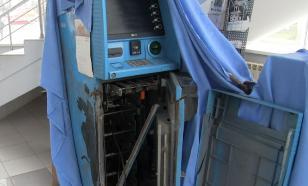 В Нижегородской области приезжие распилили банкомат и украли деньги